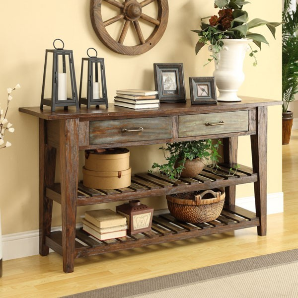 Coast To Coast - 2 Drw Console - 46226 traditional-console-tables
