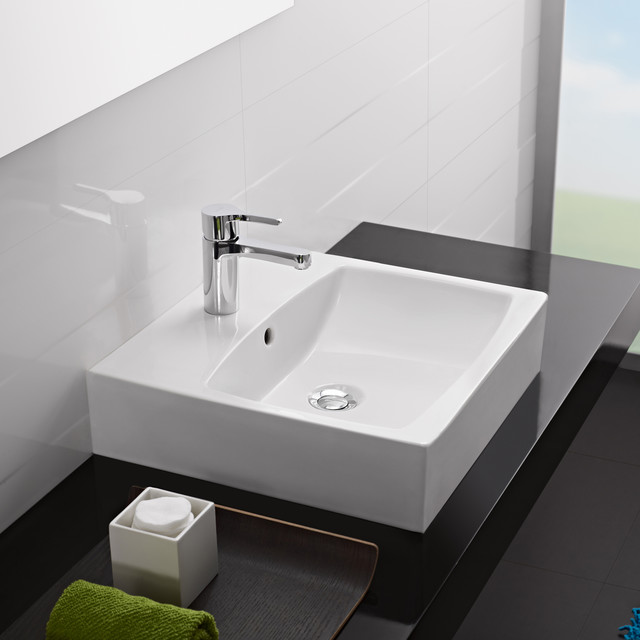 modern-bathroom-sinks Undermount Square Bathroom Sinks