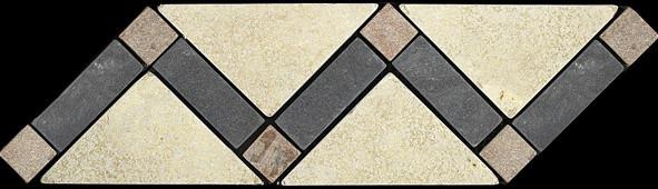 Slate floor-tiles