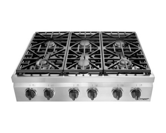 """Dacor Distinctive 36"""" Gas Rangetop, Stainless Steel Natural Gas   DRT366SNG -"""