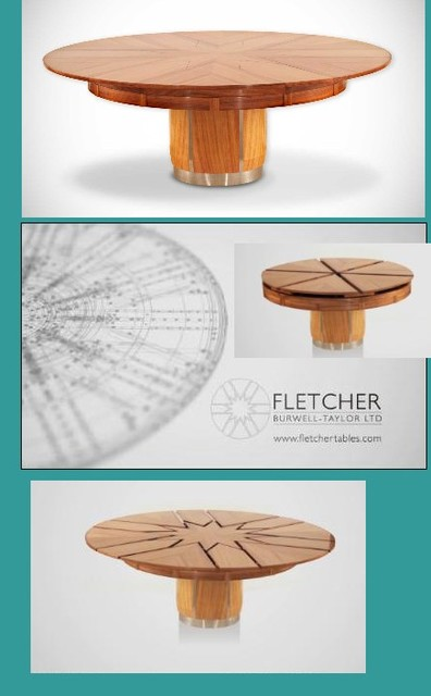 Expandable Round Dining Table Contemporary Dining  : contemporary dining tables from houzz.com size 396 x 640 jpeg 42kB
