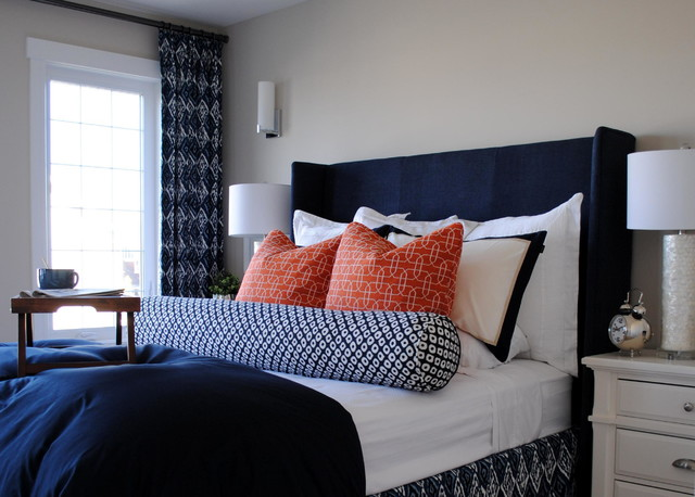 Nautical master bedroom for Nautical bedroom ideas
