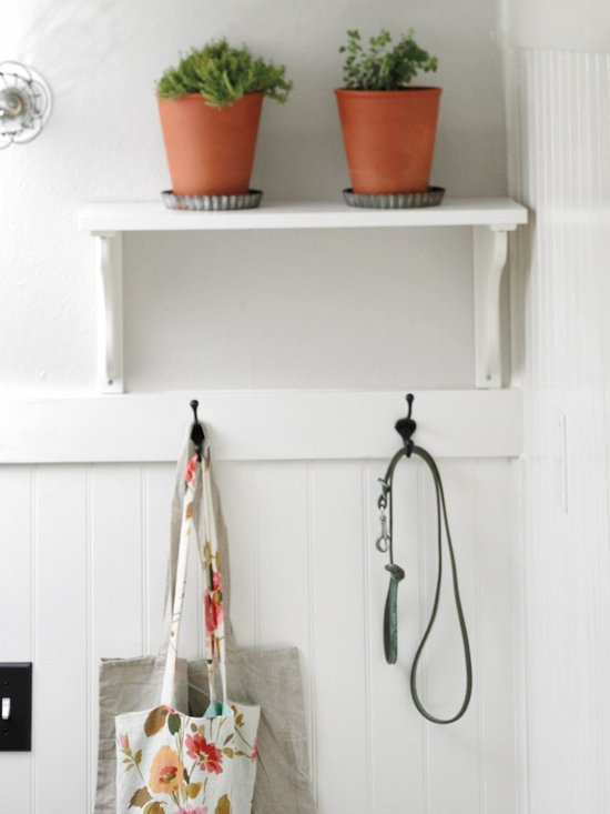 Rejuvenation: Entry - This functional Classic Double Coat Hook is as basic as it is beautiful.