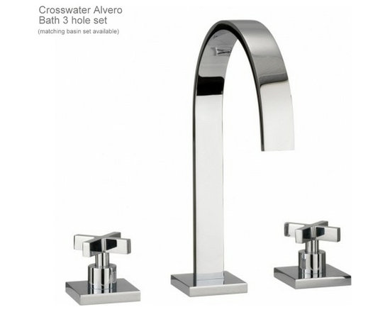 Crosswater Alvero Brassware - Brassware by Crosswater from the Alvero range.