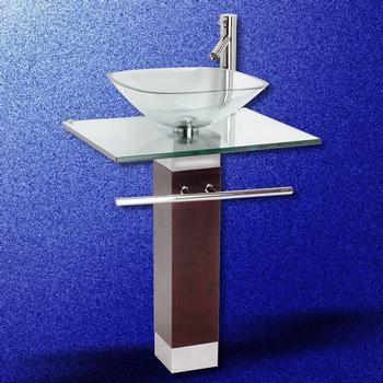 Glass Pedestal Sinks Bathroom : Glass Pedestal Sink - Traditional - Bathroom Sinks - other metro - by ...