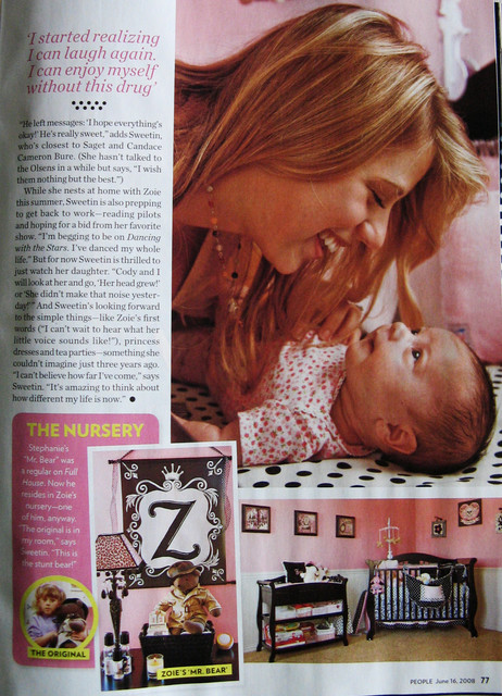 Celebrity Nursery - Jodie Sweetin eclectic
