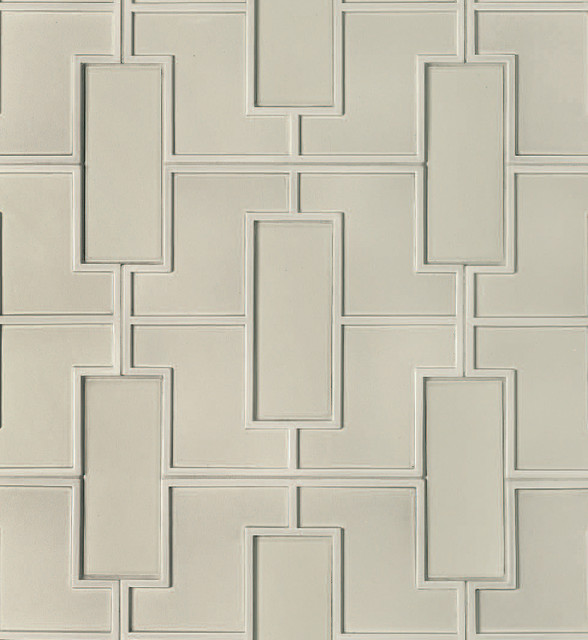 Fretwork Pattern Decorative Field  kitchen tile