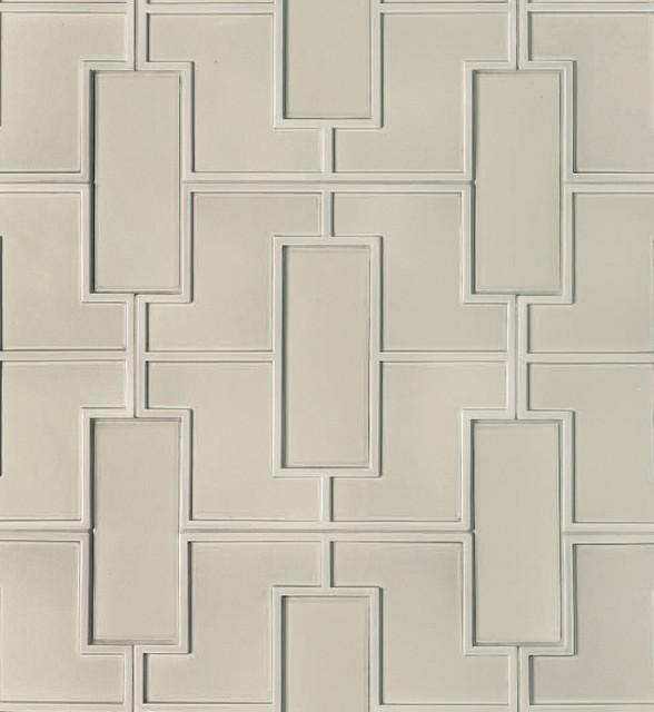 Fretwork Pattern Decorative Field tile