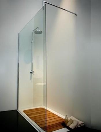 FLUXE corian shower tray contemporary