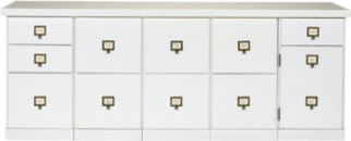 Original Home Office 5-Cabinet Credenza contemporary-storage-units-and-cabinets