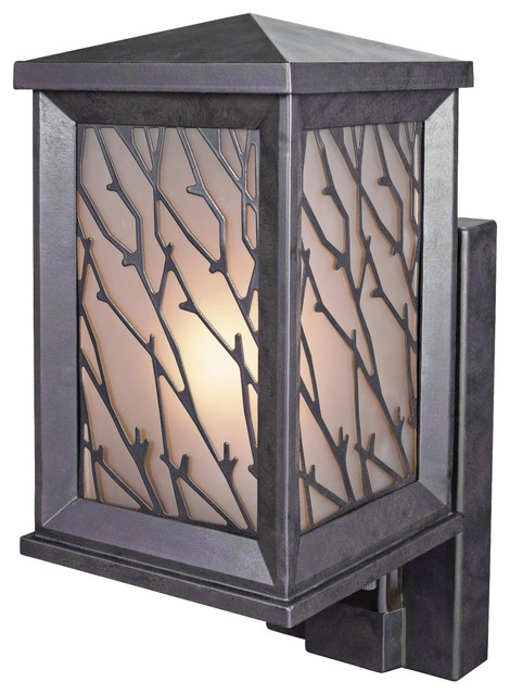 bronze motion sensored security light contemporary outdoor lighting