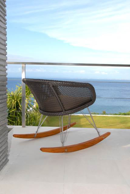 Modern Outdoor Rocking Chair - Lebello modern outdoor products