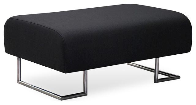 Camden Black Ottoman modern-footstools-and-ottomans