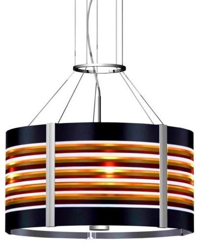 Mondo 20 in. Drum Pendant contemporary-pendant-lighting