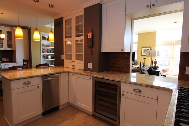 Southport Loft contemporary-kitchen
