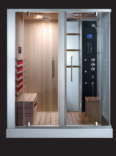 Steam Shower modern-showers