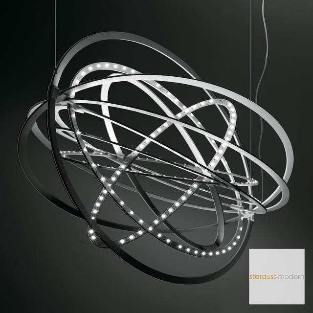 Artemide Copernico Suspension Lamp contemporary-chandeliers