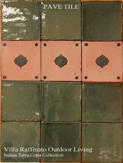 Villa Raffinato Italian Terra Cotta Collection mediterranean-tile