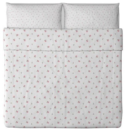 Emelina knopp duvet cover and pillowcase s moderne housse for Parure de lit moderne