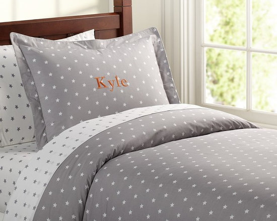 Organic Star Duvet Cover -