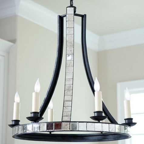 Maurelle 6 Light Chandelier traditional-chandeliers