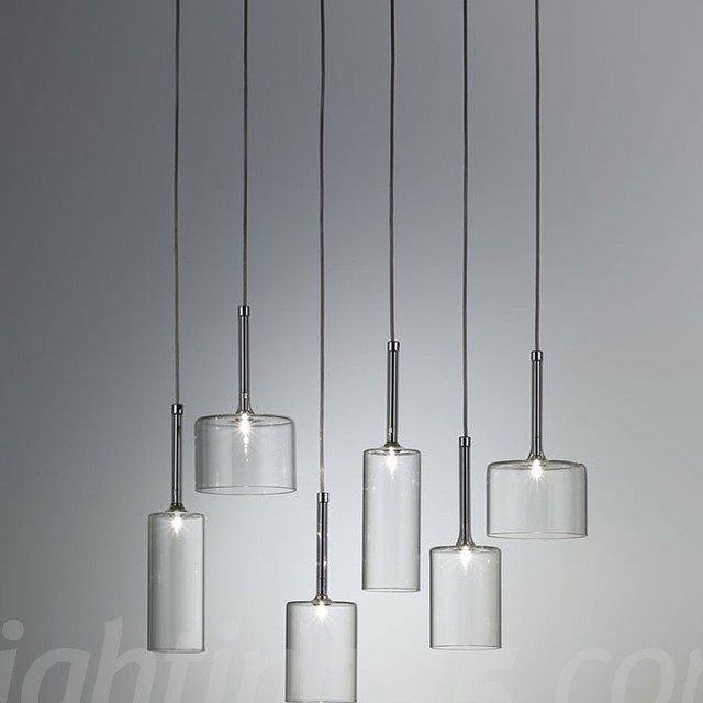 Axo - Spillray 6 suspension light modern-chandeliers