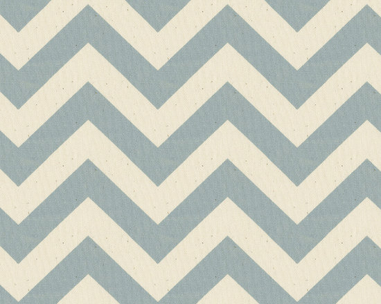 Zig Zag Stripes - The spa blue and natural chevron stripes make this a perfect companion fabric for our retro owls. Made from 100% cotton twill this fabric is versatile as well as durable.