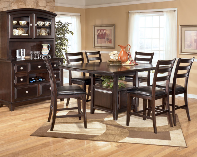 Ashley ridgley dining room collection contemporary for Ridgley dining room set
