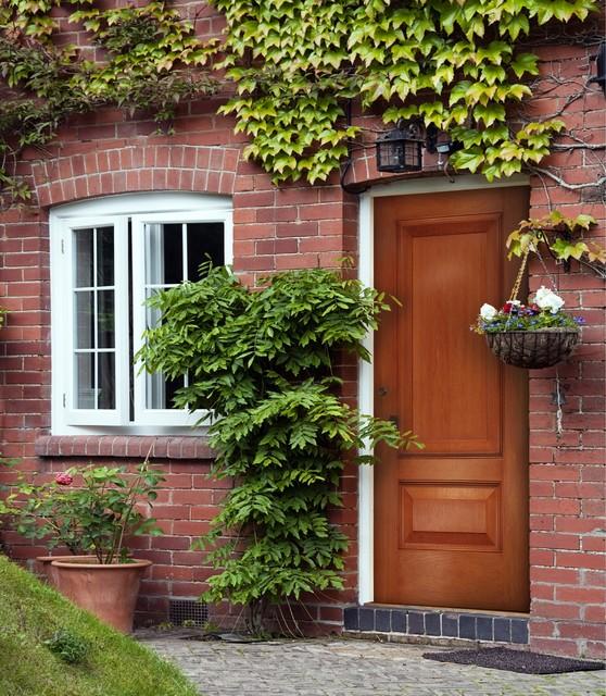 Cherry Grain Door contemporary