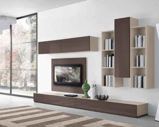 Modern Wall Unit VV 3901 - $2,490.00 - Made in Italy. Modern Italian Wall Unit VV 3901.