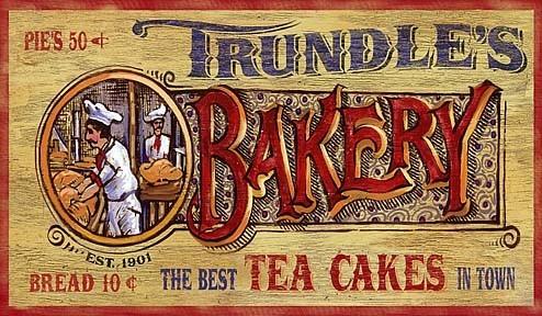 Vintage Bakery Sign 7