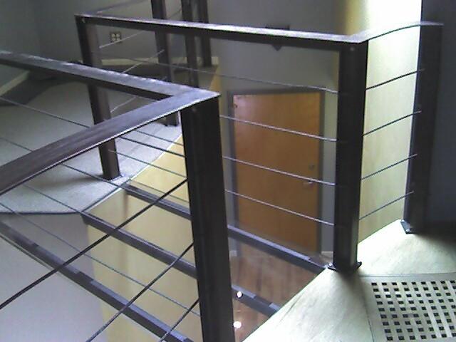 Chicago Loft renovation modern-entry