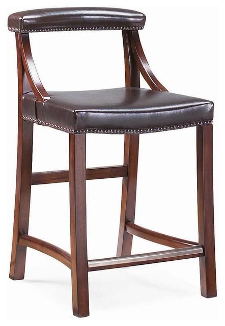 Bernhardt british passages edwardian counter stool - Traditional kitchen bar stools ...