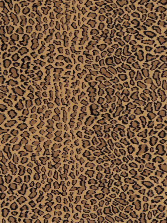 E418 Cheetah Animal Print Microfiber Fabric -