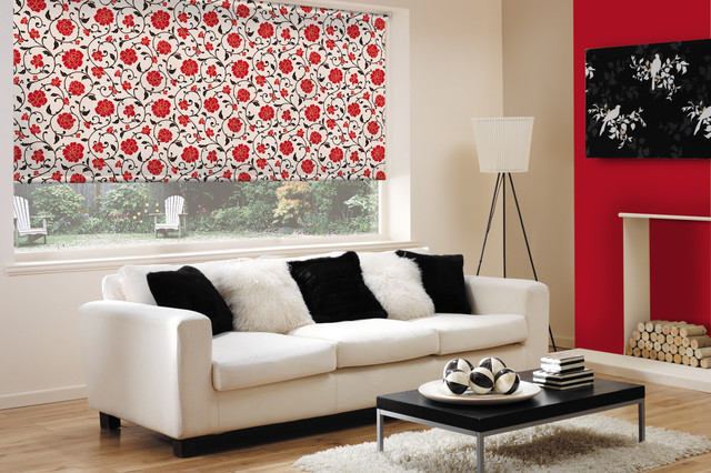 Examples of products offered - Modern - Roller Shades - toronto - by Budget Blinds of ...
