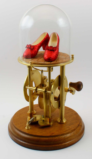 The Ruby Slippers Automaton by Automaton Man eclectic artwork