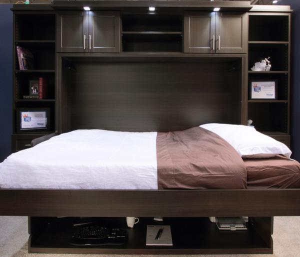 Hidden Desk Bed contemporary-furniture
