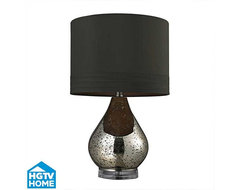 HGTV Home - Mercury Glass Table Lamp table-lamps
