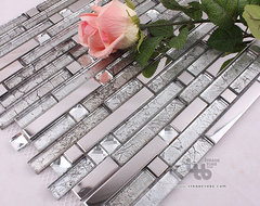 Bathroom Tile,Glass mosaic tile,Metal tile,Wall tile,living room wall tile modern bathroom tile