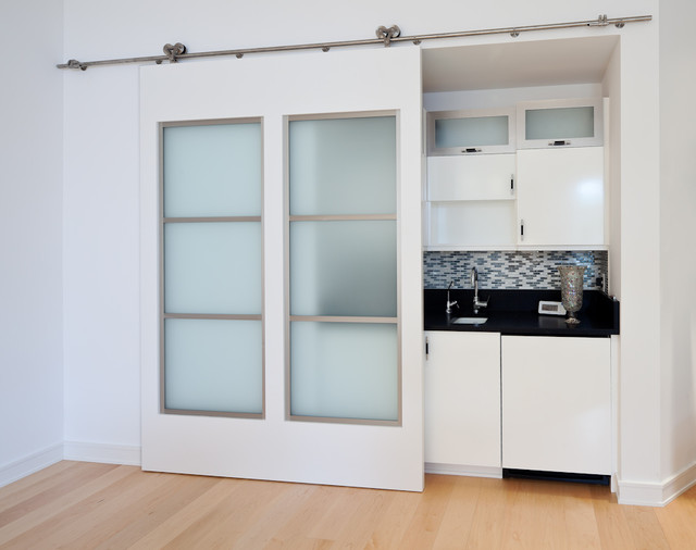 Interior Sliding Door - Contemporary - Interior Doors - cleveland - by Keim Lumber Company