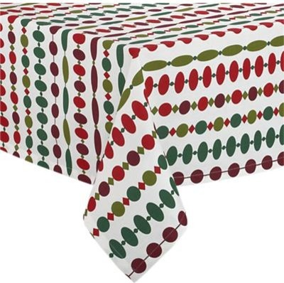"Ornament 60""x60"" Tablecloth contemporary-tablecloths"