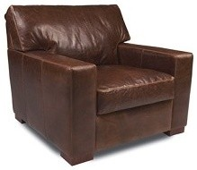 Danford Chair in Leather living-room-chairs