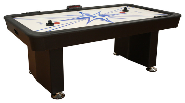 Air-Hockey Table transitional-wine-and-bar-cabinets