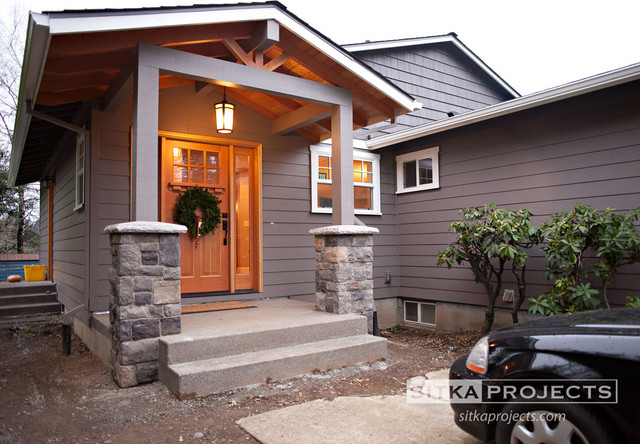 Addition/remodel traditional-entry