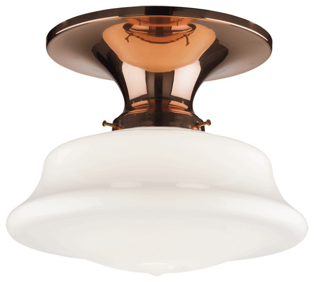 Miles Flush-Mount Fixture traditional-ceiling-lighting