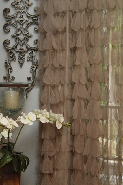 Couture Dreams Chichi Sable Window Panel curtains