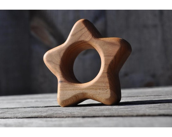 Wooden Teether Star by Finns & Flowers -