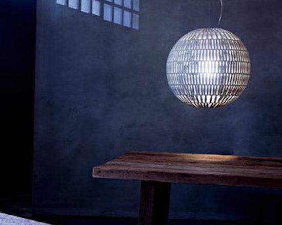 TROPICO SPHERA SUSPENSION LAMP BY GIULIO IACCHETTI -
