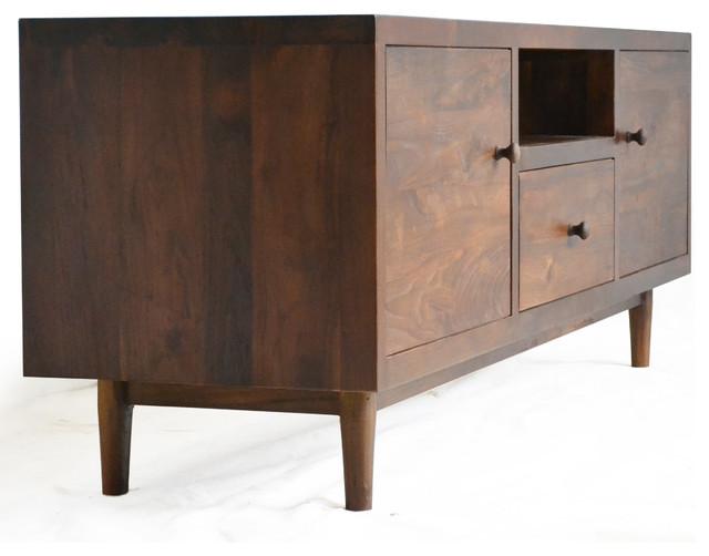 Hayworth Media Cabinet - Modern - Media Cabinets - san francisco - by Teak Me Home