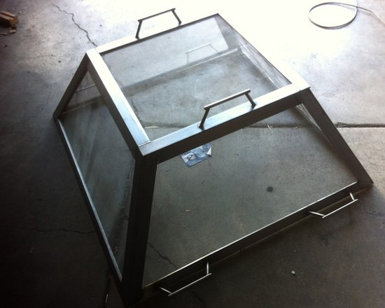 Ajay's Firepit Screen - Stainless, pic 01 -